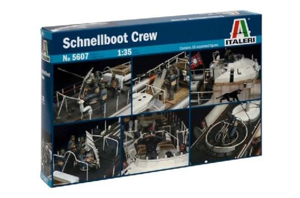 Italeri 1/35 Schnellboot Boat Crew 5607S