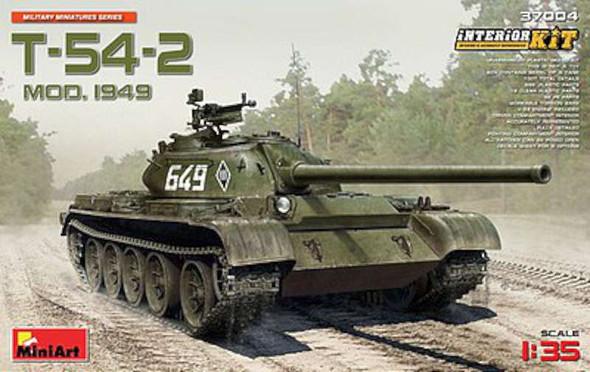 1/35 Soviet T54-2 Medium Mod 1949 Tank w/Full Int