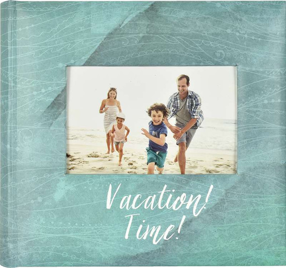 """MBI 2-Up Photo Album 9.5""""X8.5"""" Vacation Time!"""