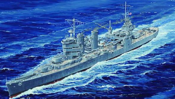 Trumpeter USS Astoria CA34 Heavy Cruiser 1942 -- Plastic Model