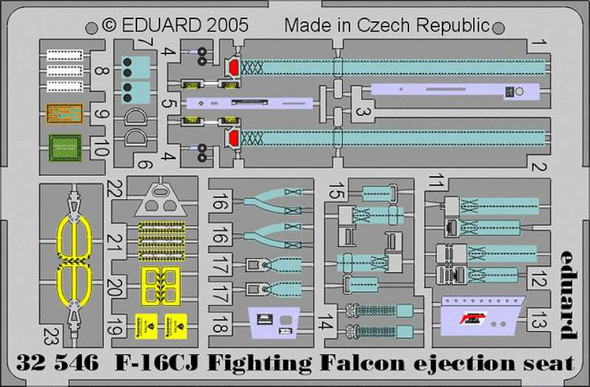 Lockheed Martin F-16CJ Fighting Falcon Fighting Falcon E
