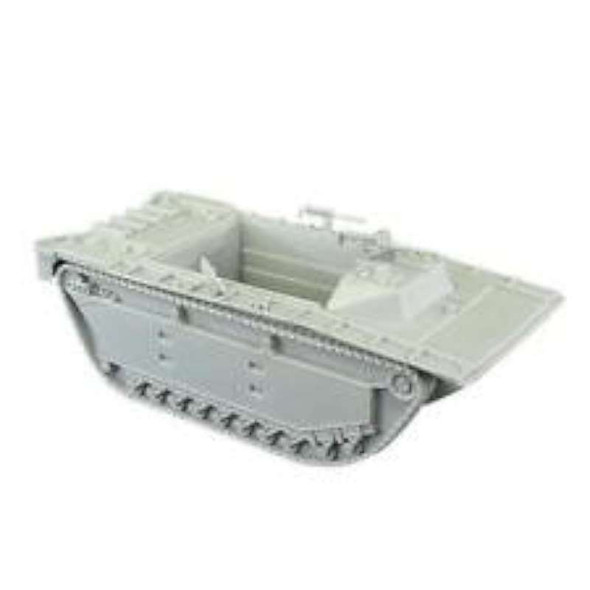 BMC WW2 Gray Amtrack Tank Vehicle for 54mm Plastic Army