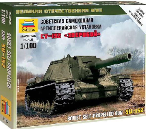 Zvezda Soviet SU-152 Self-Propelled Howitzer