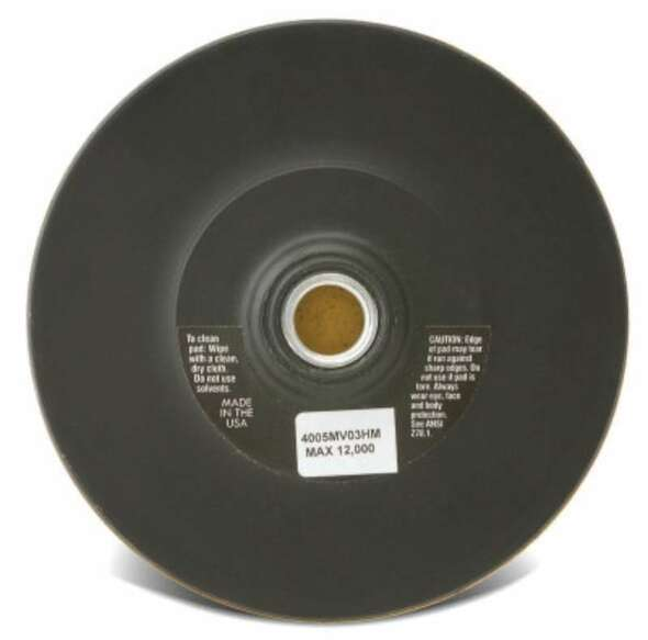 CGW Abrasives Hook and Loop Backing Pads