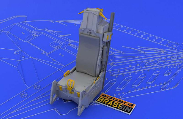 Eduard 1/48 Scale F-16 Ejection Seat Late Model (for Tamiya)