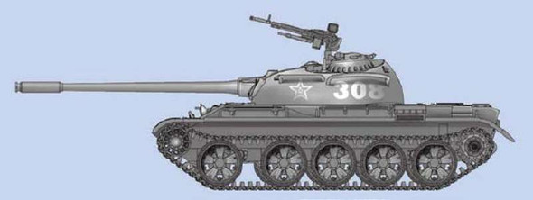 Chinese Type 59 MBT, 1/72 by Trumpeter, Model Vehicle