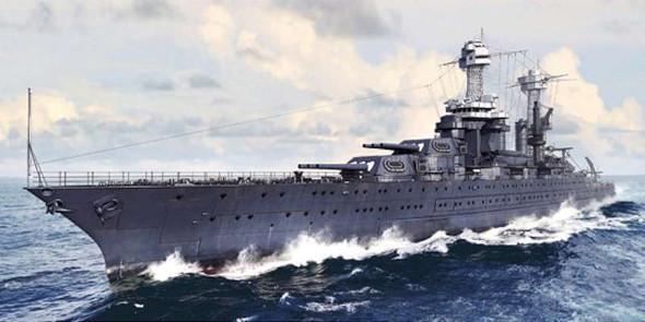 Trumpeter 1/700 USS Tennessee BB-43 Battleship 1941 5781