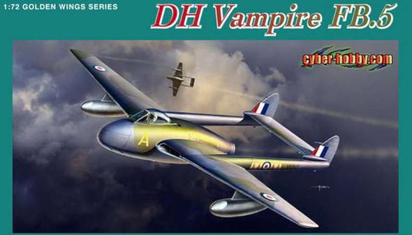 Cyber Hobby 1/72 fighter-bomber Vampire FB.5