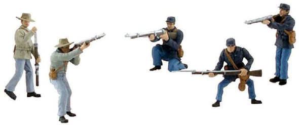 Scene Setters American Civil War Soldiers Clam