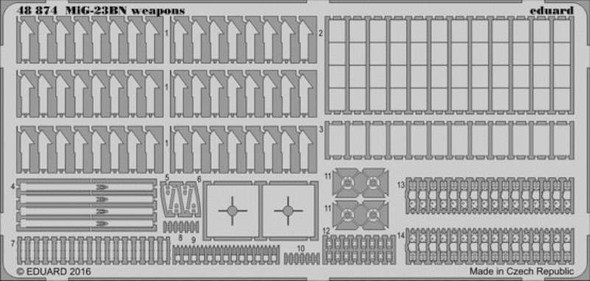1/48 Aircraft- MiG23BN Weapons for TSM