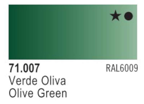 Vallejo Olive Green Paint, 17ml