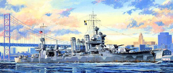Trumpeter 5748 US Heavy Cruiser Quincy 1/700 Scale Plastic Model Kit