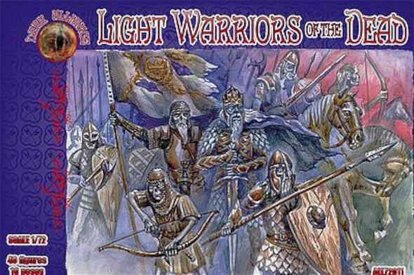 Light Warriors of the Dead Mythical Figures (40) -- Plastic Model Fantasy Figure -- 1/72 -- #72011