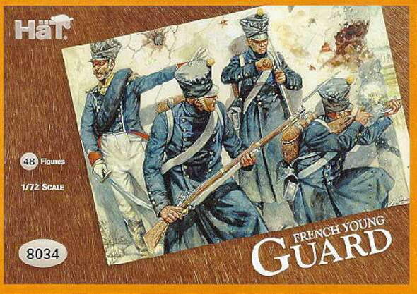 Hat Industries Figures Young Guard -- Plastic Model Military Figure