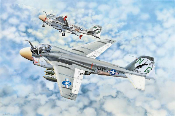 Trumpeter - 2249 1/32 A-6A Intruder Aircraft - Plastic Model