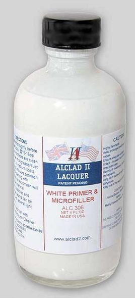 Alclad II Lacquers White Primer & Microfiller 4oz