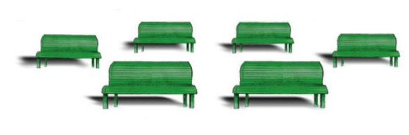 Woodland Scenics Park Benches - HO Scale