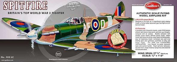 Guillow Balsa Model Spitfire