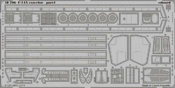 Grumman F-14A Tomcat Exterior (designed to Be Assembled