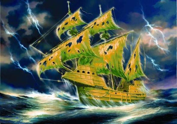 Zvezda 1/100 Flying Dutchman (Ghost Ship)