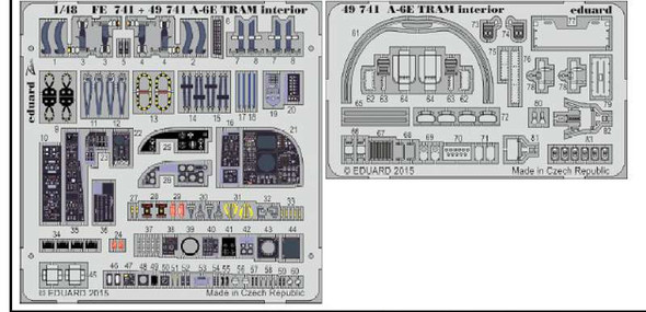 1/48 Aircraft- A6E TRAM Interior for HBO (Painted)