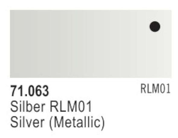 Vallejo Silver Paint, 17ml
