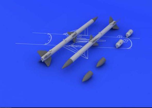 AIM-120A/B Amraam (2pcs) - 1:48 -Eduard Brassin