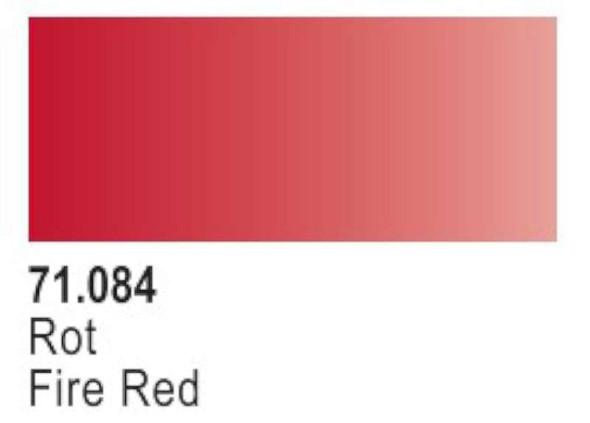 Vallejo Fire Red Paint, 17ml