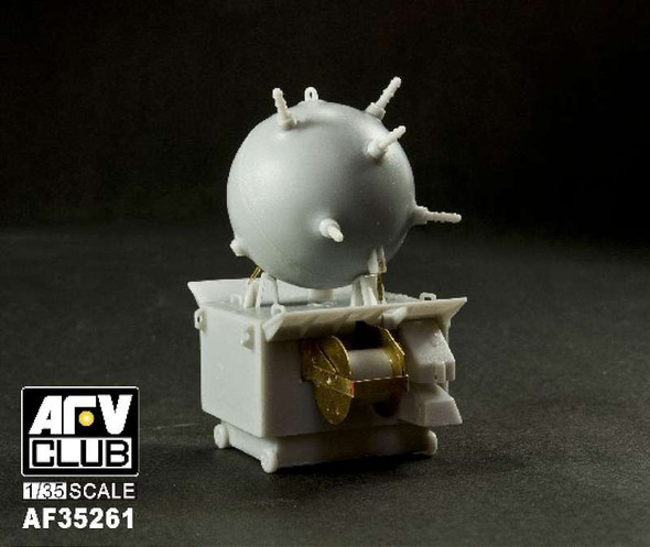 AFV Club German EMC Type II Mines (4) -- Plastic Model Military