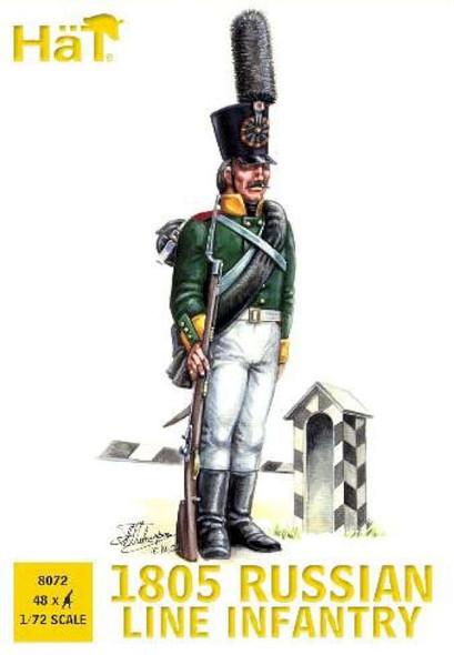Model Figures - 1805 Russian Infantry- 1:72 -HAT Industrie