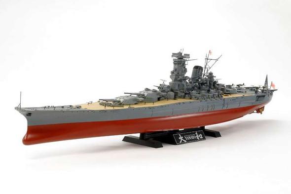 Tamiya - 78030 1/350 Japanese Yamato Battle - Plastic Model
