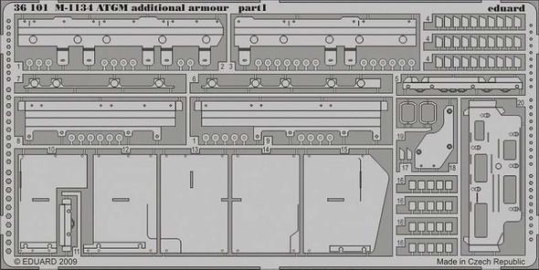 1/35 Armor- M1134 ATGM Additional Armor for AFV