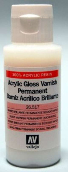 Vallejo Auxiliary Products - Gloss Varnish (60ml) 26517