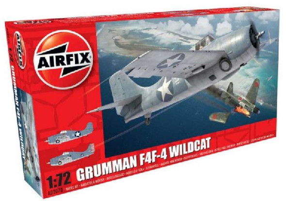 Airfix Grumman Wildcat F4F-4