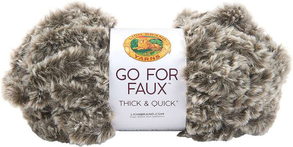 Lion Brand Yarn Go For Faux Thick & Quick Chow Chow