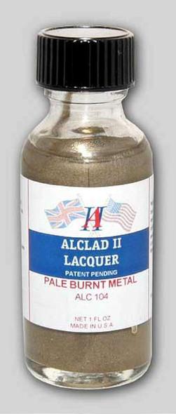 Alclad II 1oz. Bottle Pale Burnt Metal Lacquer