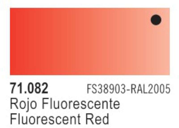Paints - Fluorescent Model Air - Red Mint/New