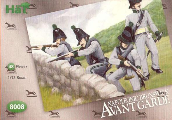Model Figures - Napoleonic Brunswick Avante Garde. 48 Infantry with SE
