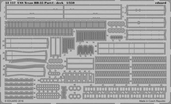 1/350 Ship- USS Texas BB35 Pt.4 Deck for TSM