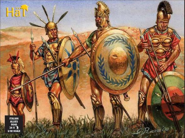 Hat Industrie 16 Italian Allies (Roman) Plastic Soldiers Army #9040