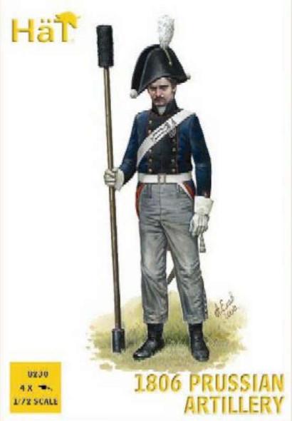 Model Figures - 1806 Prussian Artillery- 1:72 -HAT Industrie