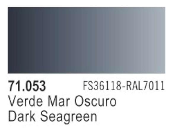 Dark Sea Grey (FS36099, RAL7011), 17ml by Vallejo, Model Paint