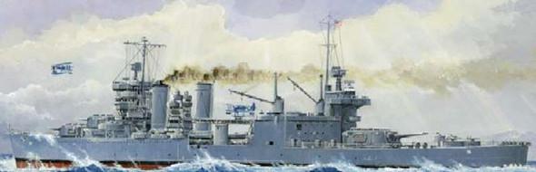 Trumpeter USS Minneapolis CA36 Heavy Cruiser 1942 -- Plastic Model
