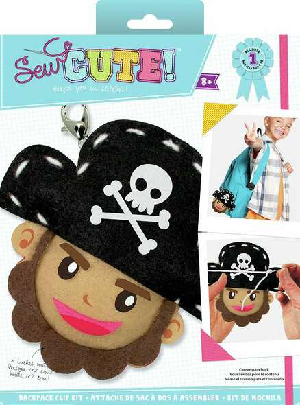Sew Cute! Needlepoint Kit Mini Pirate