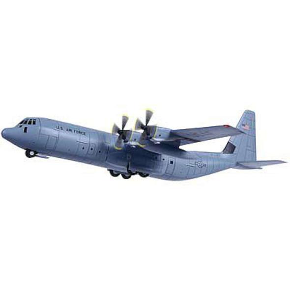 C-130J-30 Super Hercules USAF w/2 Marking -- Plastic Model Airplane Kit -- 1/144 Scale -- #14700
