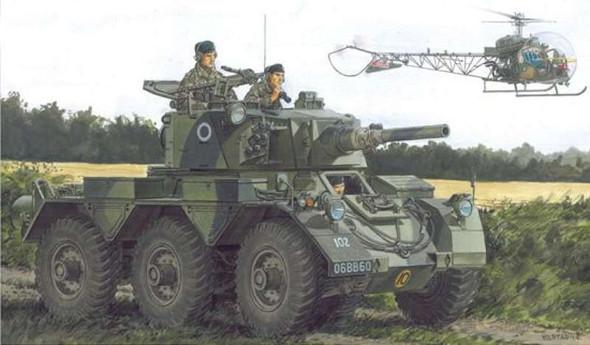 Dragon 3554 British Armored Saladin II (1:35)