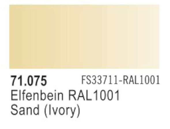 Sand (FS33711, RAL1001), 17ml by Vallejo, Model Paint
