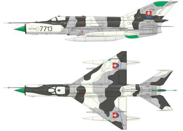 1/48 MiG21MF Fighter (Wkd Edition Plastic Kit)