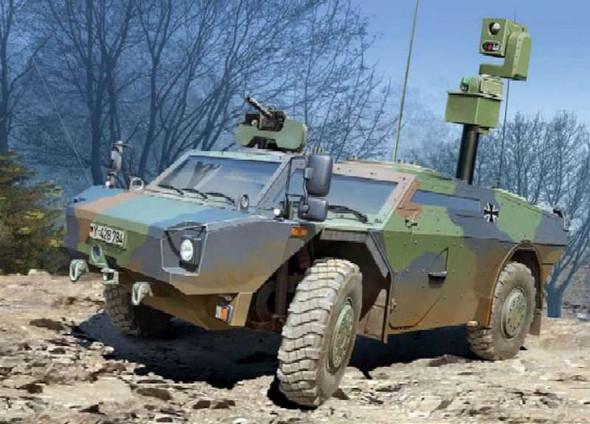 Trumpeter 1/35 German Fennek LGS (Lt Armored Recon Veh) 5534