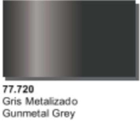 Vallejo Metal Color Gunmetal Grey 77.720 32ml